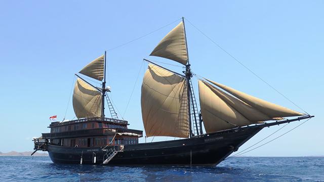 豪華帆船プルナマ号 フローレス海の冒険航海~インドネシア・コモド島/古代生物と世界遺産の海をたずねて~