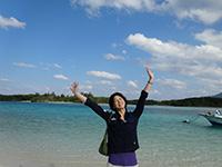 日本ほのぼの散歩2時間スペシャル「春を先取りする沖縄散歩 2泊3日ぜいたく離島巡り」
