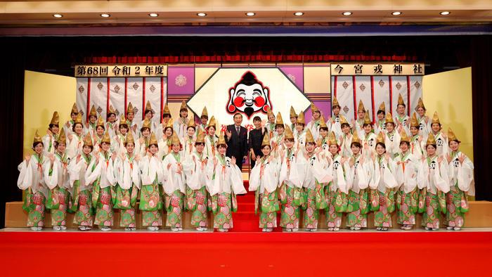 写真:福娘大集合!~第68回 令和2年度 今宮戎神社 福娘発表会~