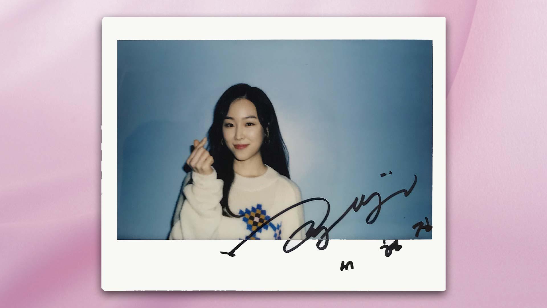 「僕が見つけたシンデレラ~Beauty Inside~」ソ・ヒョンジン サイン入りポラロイド