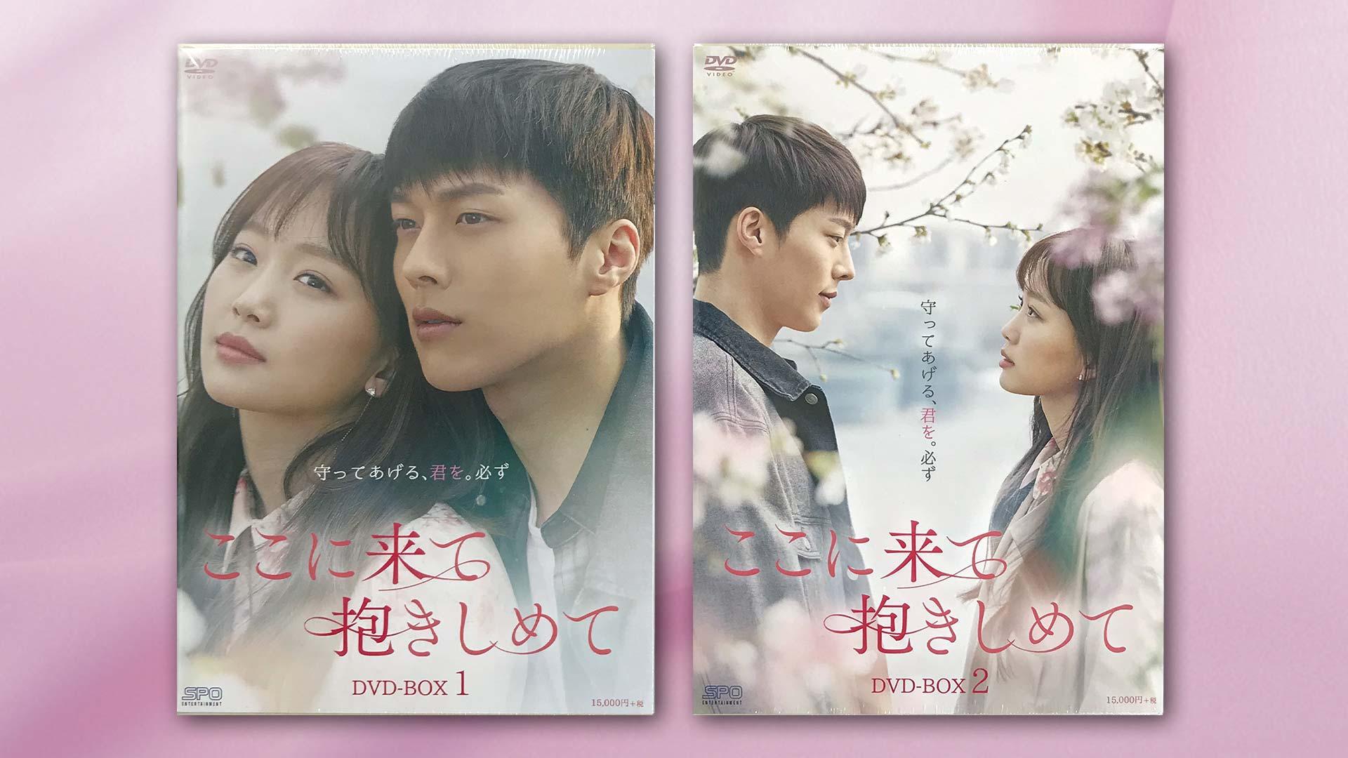 「ここに来て抱きしめて」DVD BOX1&BOX2 1セット