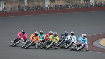 写真:BS11オートレース中継