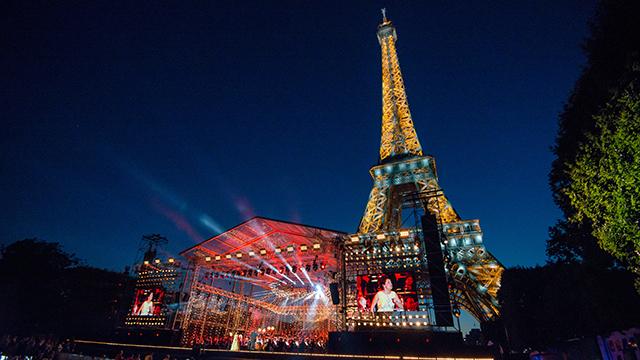 パリ祭記念コンサート~エッフェル塔に響く平和の調べ~