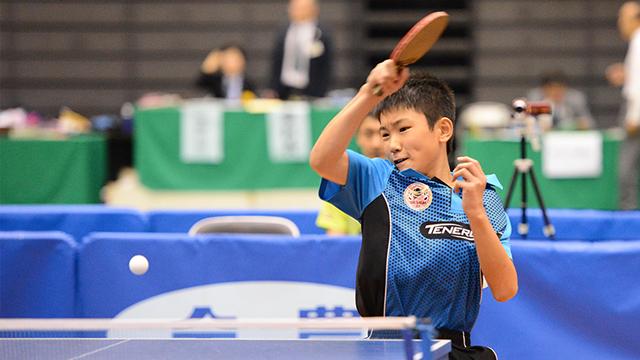 写真:JOCジュニアオリンピックカップ2015 平成27年度全日本卓球選手権大会≪カデットの部≫