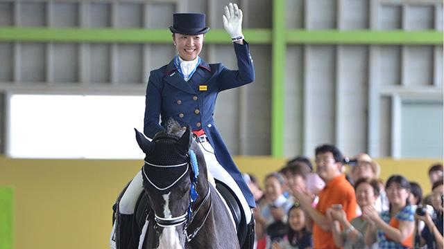 写真:JOC ジュニアオリンピックカップ<br>ヤングライダー馬場馬術選手権