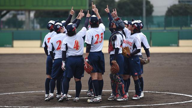 写真:東アジアカップ女子ソフトボール大会<br>2017 in HIROSAKI
