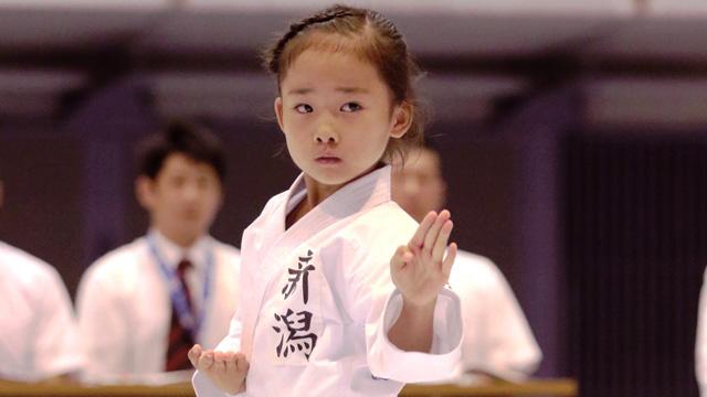 写真:第17回全日本少年少女空手道選手権大会 ゴールデン2時間スペシャル