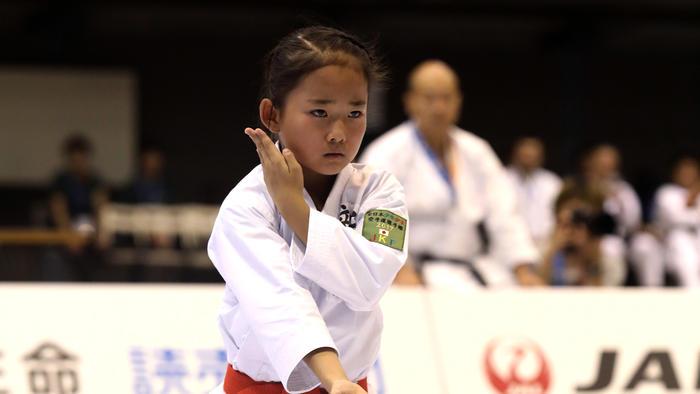 写真:第18回全日本少年少女空手道選手権大会 ゴールデン2時間スペシャル