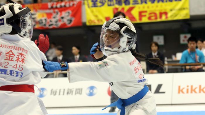写真:第19回全日本少年少女空手道選手権大会 ゴールデン2時間スペシャル