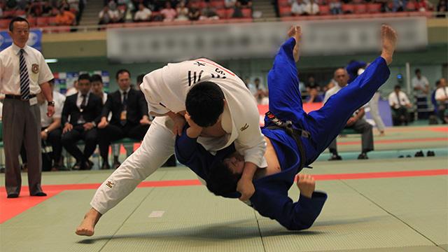 写真:平成29年度 全日本学生柔道体重別選手権大会