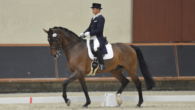 写真:第67回全日本馬場馬術大会2015PartⅠ~頂点へ駆ける!気品あふれる人馬一体の妙技~