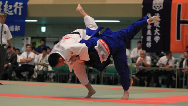 写真:平成29年度 全日本学生柔道優勝大会